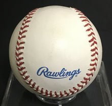 Load image into Gallery viewer, Mo Vaughn Autographed Baseball Signed American League Rawlings Boston Red Sox