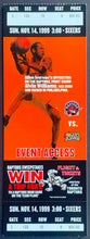 Load image into Gallery viewer, 1999 Toronto Raptors NBA Ticket Philadelphia 76ers Allen Iverson Basketball