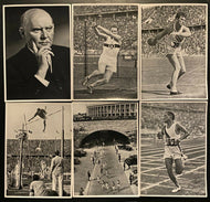 1936 Berlin Summer Olympics Rare Original Photos With Checklist Vintage Retro
