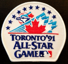 Load image into Gallery viewer, 1991 MLB Baseball All Star Toronto Blue Jay Player's Jersey Patch Unused Vintage