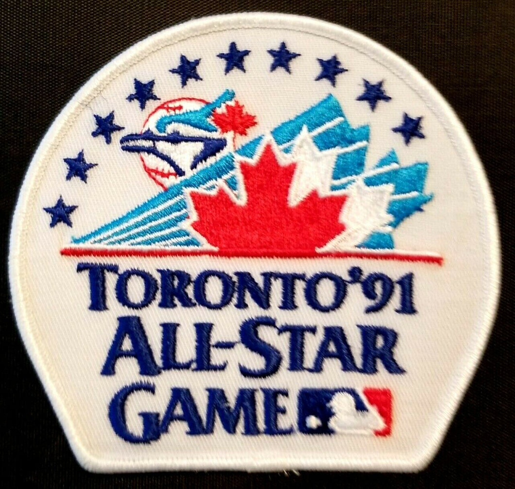 1991 MLB Baseball All Star Toronto Blue Jay Player's Jersey Patch Unused Vintage