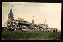 Load image into Gallery viewer, 1905 Hippodrome Wellington Race Track Ostend Belgium Vintage Postcard