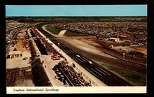 Load image into Gallery viewer, 1960 Daytona International Raceway Postcard Stamped Vintage Rare Florida