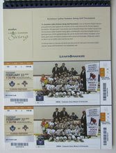 Load image into Gallery viewer, 2004-2005 Toronto Maple Leafs Full Season Ticket Book 2 Seats 45 NHL Home Games