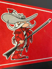 Load image into Gallery viewer, UNLV University Of Nevada Las Vegas Hey Reb Pennant Vintage Sports Sharp Tip