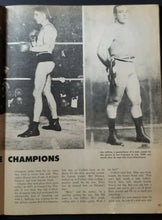 Load image into Gallery viewer, 1960 Boxing Illustrated Magazine Archie Moore + Early Cassius Clay Featured Vtg