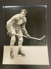Load image into Gallery viewer, 1936 Vtg NHL Toronto Maple Leafs Hockey Syl Apps Rookie Photo Alexandria Studio