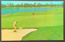 Load image into Gallery viewer, Vintage 1968 Dunes Golf & Beach Club Postcard Jimmy D'Angelo Myrtle Beach