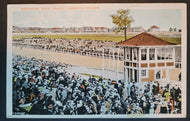 1900's Old Woodbine Toronto Horse Racing Posted Postcard  Horsetrack