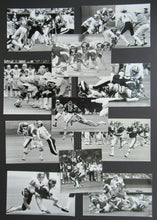 Load image into Gallery viewer, 1980 Season Vintage CFL Montreal Alouettes Denis Brodeur Press Photo Lot (11)