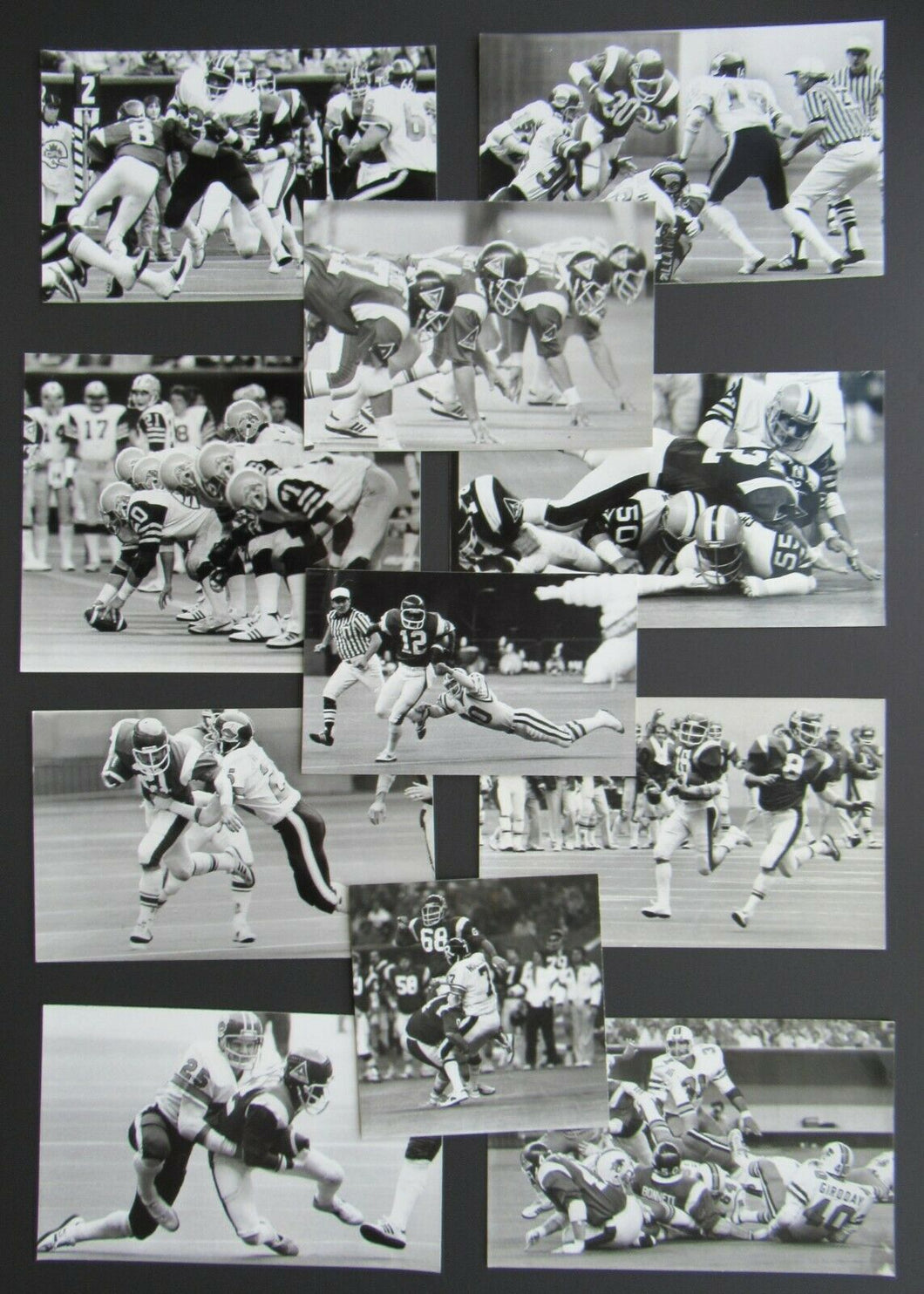 1980 Season Vintage CFL Montreal Alouettes Denis Brodeur Press Photo Lot (11)