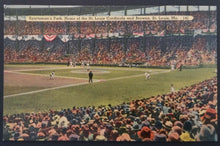 Load image into Gallery viewer, 1900's Baseball Stadium Postcard Sportsman's Park St. Louis Cardinals Browns USA