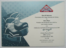 Load image into Gallery viewer, 1993 NHL Enterprises All-Star Celebration Nuit Blanche Game Gala VIP Invite