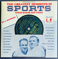 The Greatest Moments in Sports 33 1/3 Lp Ruth Gehrig 7