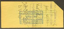Load image into Gallery viewer, Zane Grey Writer Signed Bank Check Union Litho Co. Dated Sept 1 1933 JSA LOA