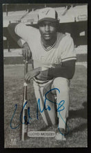 Load image into Gallery viewer, 1980 Lloyd Moseby Autographed J D McCarthy Photo MLB Toronto Blue Jays