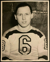 Load image into Gallery viewer, 1930s NHL Hockey Vintage Turofsky Photo Boston Bruins All-Star Jack Crawford