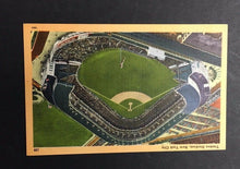 Load image into Gallery viewer, c1940 Yankee Stadium Baseball Postcard New York Post card MLB Vintage Old