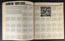 Load image into Gallery viewer, 1971 CFL Football Picture Album 9 Teams Eskimos Argos Tiger Cats Alouettes ++