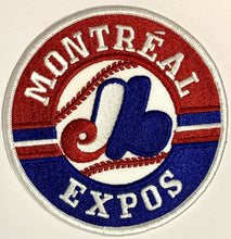 Load image into Gallery viewer, Montreal Expos Jersey Crest Vintage Baseball Patch MLB