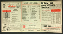 Load image into Gallery viewer, 1966 Toronto Marlboros Official Hockey Game Program Hamilton Red Wings Vtg