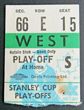Load image into Gallery viewer, 1967 Toronto Maple Leafs NHL Hockey Stanley Cup Semi-Final Ticket Stub Chicago