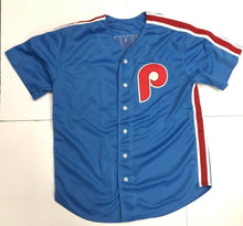 Load image into Gallery viewer, Philadelphia Phillies Jim Bunning Baseball Jersey Perfect Game Inscripton JSA