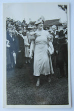 Load image into Gallery viewer, 1939 Vintage Queen Elizabeth Royal Visit To Toronto RPPC Photo Postcard Unposted