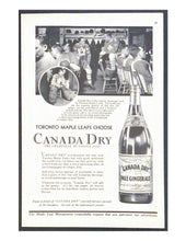 Load image into Gallery viewer, 1933 NHL Hockey Toronto Maple Leafs Advertisements Ads King Clancy Hainsworth