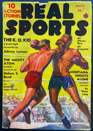 Vintage Real Sports Pulp Magazine February 1930 Boxing Publication