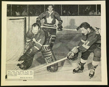 Load image into Gallery viewer, 1960s NHL Hockey Photo Toronto Maple Leafs Heavy Stock John Maiola Hillman Bower