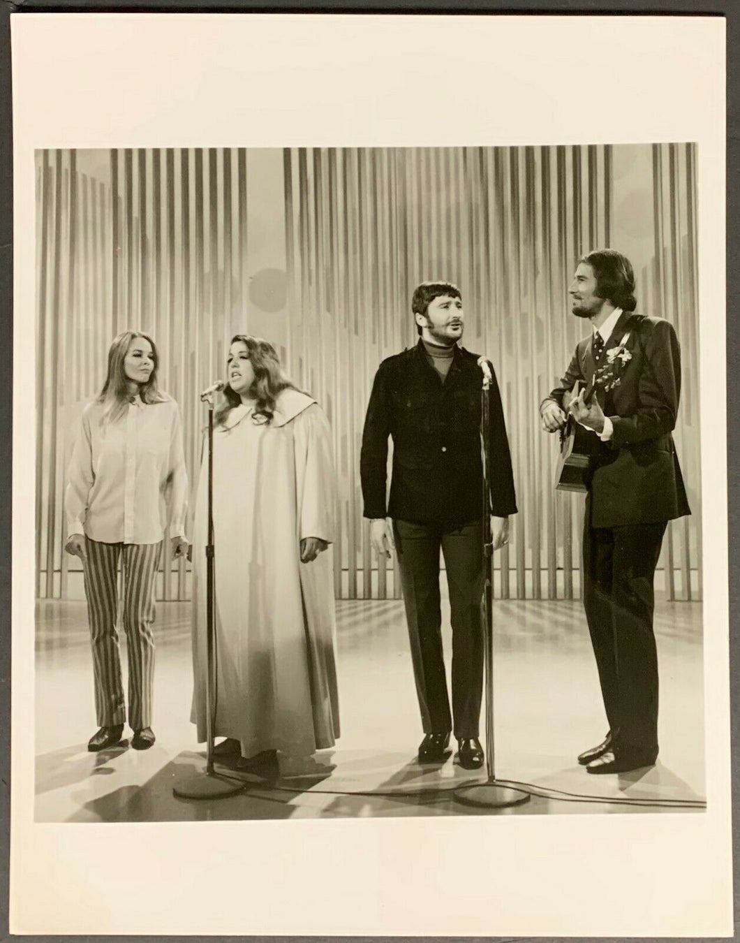 1969 The Mamas And The Papas CBS Studio Issued Photo Iconic Hippie Rock Band