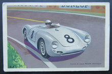 Load image into Gallery viewer, Vintage Formula One Racing Postcard - Porsche Race Car #8