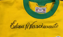 Load image into Gallery viewer, Pele Signed Brazil Jersey Rare Full Name Signature Edson A Nascimento PSA/DNA