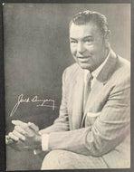 Rare Jack Dempsey Postcard Boxing Champ DeVRY Technical Institute Advertisement