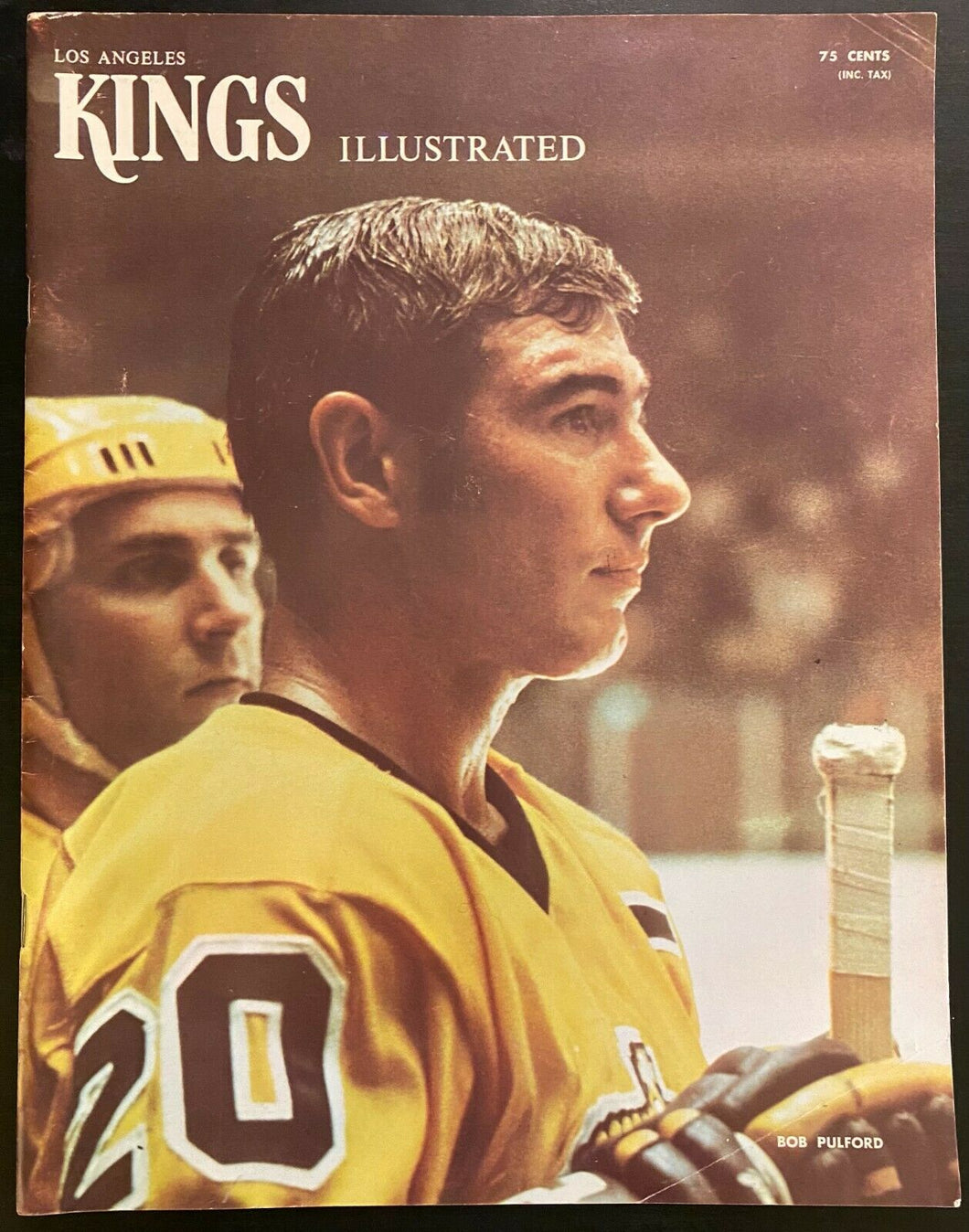 1971 NHL Hockey Forum Program Los Angeles Kings v Boston Bruins Historical Game