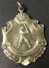 Load image into Gallery viewer, 1923 Baseball Medal Best Sportsman St Francis Jrs Sterling Rare Antique Charm