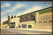 Load image into Gallery viewer, 1930's Chicago Coliseum Sports & Event Stadium Arena Postcard Vintage Post Card