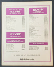 Load image into Gallery viewer, 1969 Elvis Presley Vintage Promo Photo Card For Record Stores - King Of Rock