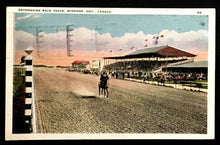 Load image into Gallery viewer, 1924 Devonshire Race Track Windsor Ontario Canada Vintage Postcard