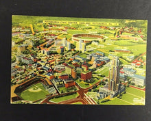 Load image into Gallery viewer, 1940 Pittsburgh Stadiums Picture Postcard Civic Center Imperial Greeting Card