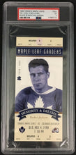 Load image into Gallery viewer, 1998 Toronto Maple Leafs Hockey Ticket Memories & Dreams Busher Jackson PSA 5