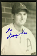 Load image into Gallery viewer, George Kell Signed Autographed RPPC Real Photo Postcard Philadelphia A's JSA