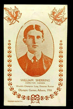 Load image into Gallery viewer, 1906 Olympics William Sherring Postcard Hamilton Canada Gold Medal Winner Athens