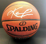 Kevin Love Autographed Basketball Signed Spalding NBA Cleveland Cavaliers JSA
