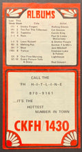 Load image into Gallery viewer, 1971 CKFH Radio Survey Record Chart Toronto Music Bee Gees Stampeders