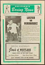 Load image into Gallery viewer, 1965 California Boxing News Program Lester vs Fernandez Middleweight Bout