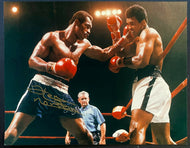 Ken Norton Autographed Photo Image From Norton vs Muhammad Ali Fight 11x14
