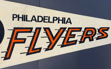 Load image into Gallery viewer, Philadelphia Flyers NHL Hockey Pennant Vintage Sports Full Size Sharp Tip