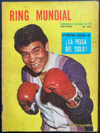 Ring Mundial Magazine April 1970 Issue Spanish Version Vintage Boxing